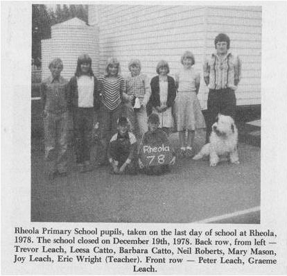 Rheola School Last Day 1978